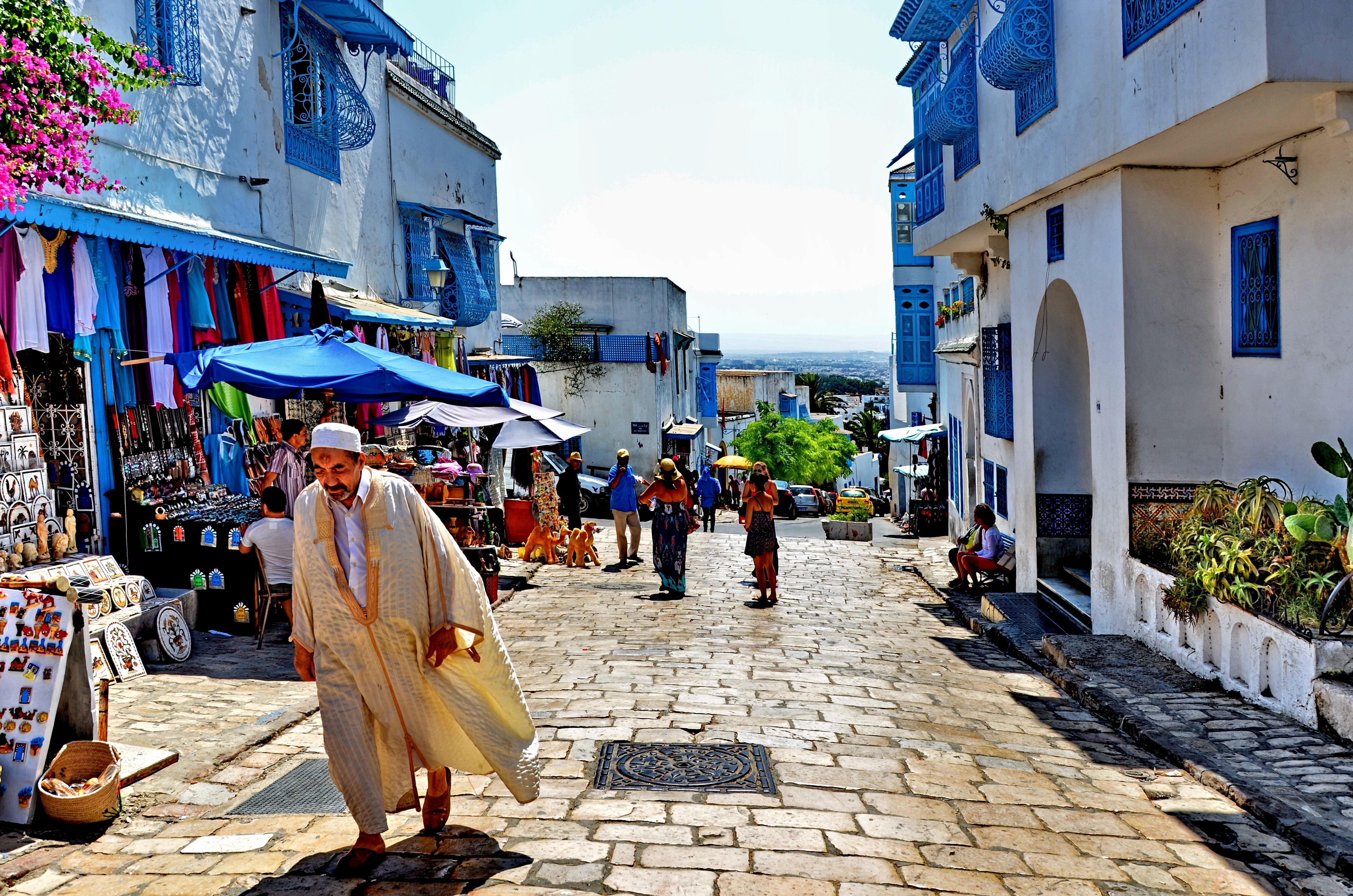 Carthage trekommendation for Sidi bou said restaurant