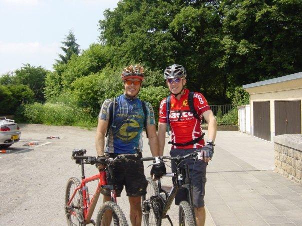 Biking with Patrick
