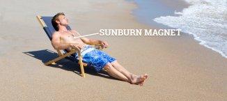 Sunburn magnet