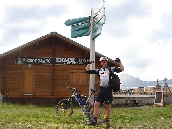 Croc Blanc snack bar Samoens