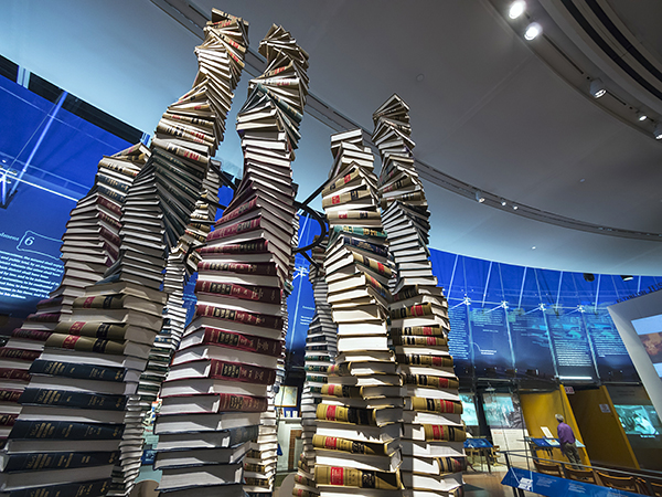 26 Aug 2013 --- Exhibit in the National Constitution Center, Philadelphia. --- Image by © Jon Hicks/Corbis
