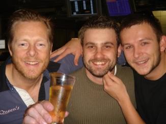 three beardies & a beer